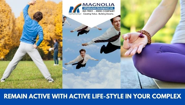 active lifestyle choices in residential complex